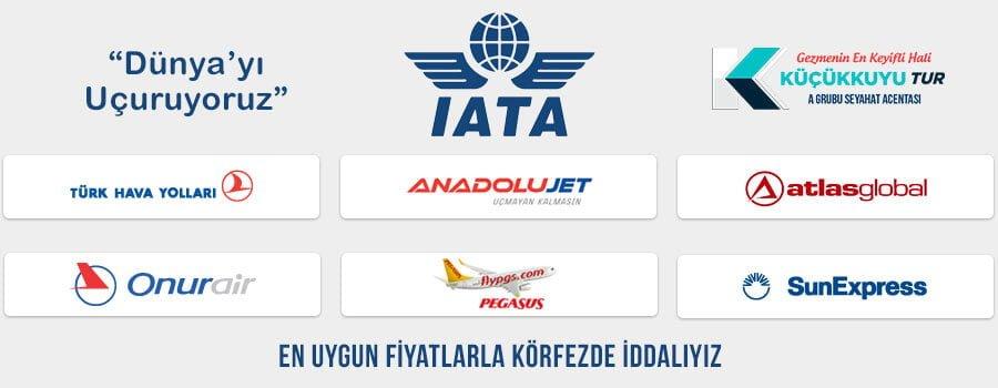 küçükkuyu Tur Uçak Biletleri
