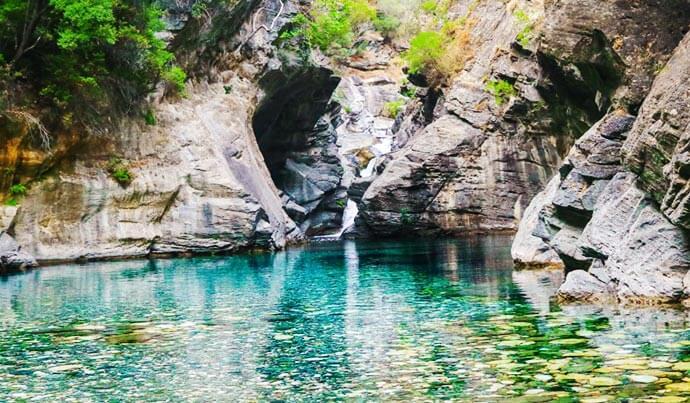 Kazdağı Şelaler ve Kanyon Turu-Sahin Deresi Kanyonu Sahindere Selalesi