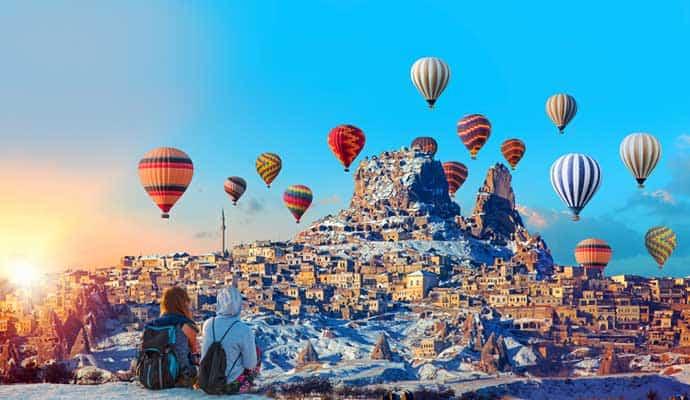 14 Şubat Kapadokya Turu