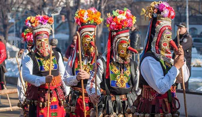 Bulgaristan Kukeri Festivali Turu