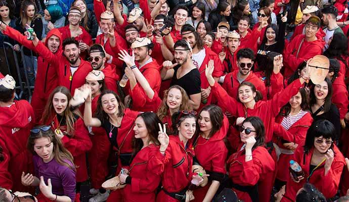 Gunubirlik Iskece Karnavali Selanik Kavala Yunanistan